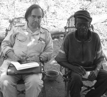 Dihunthe Palenfo interviewed by Wolfgang Jaenicke