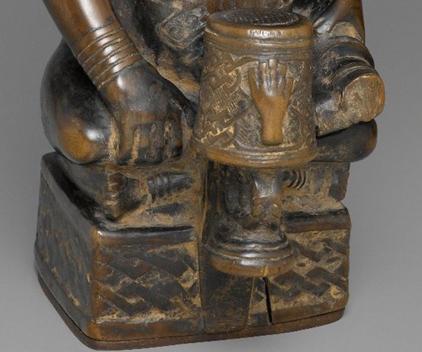 kuba ndop sculpture