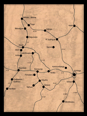 Boundiali region